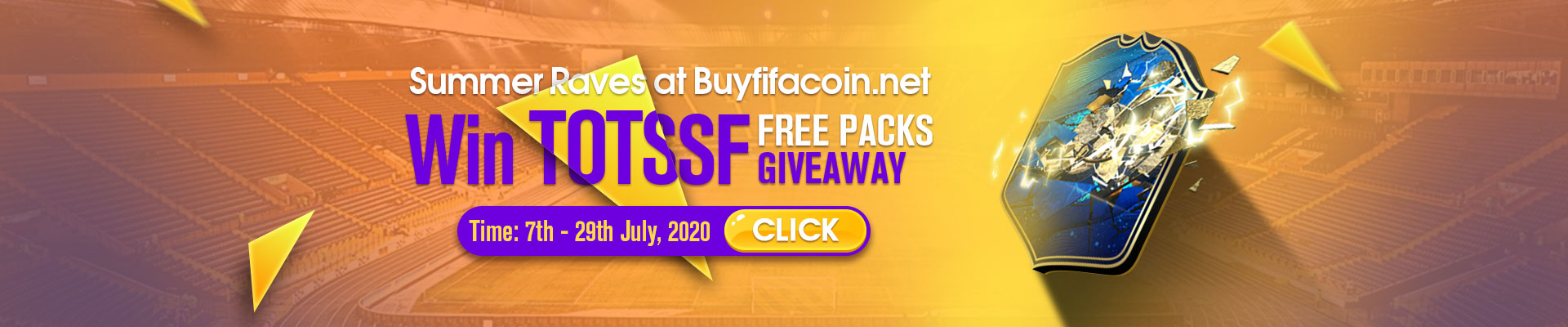 Summer Raves at Buyfifacoin.net: WIN TOTSSF Free Packs Giveaway
